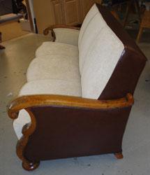 Sideways Couch View