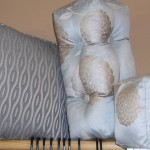 Luminescent Blue Pillow Set