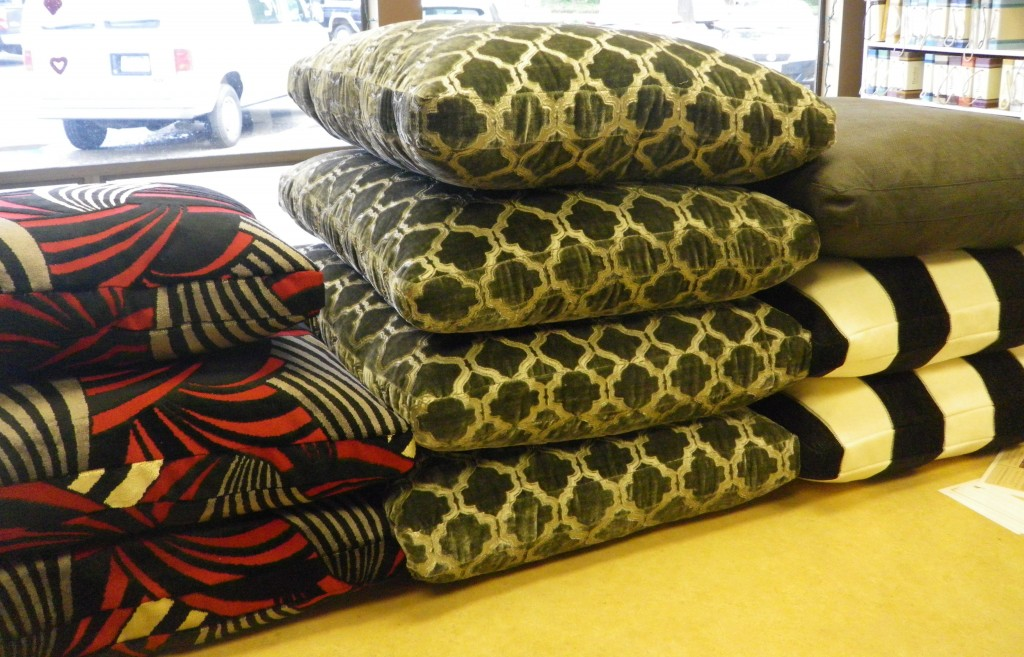 Wildly Plush Upholstered Pillows
