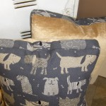 These pillows make dog-on great statement without costing a lot!