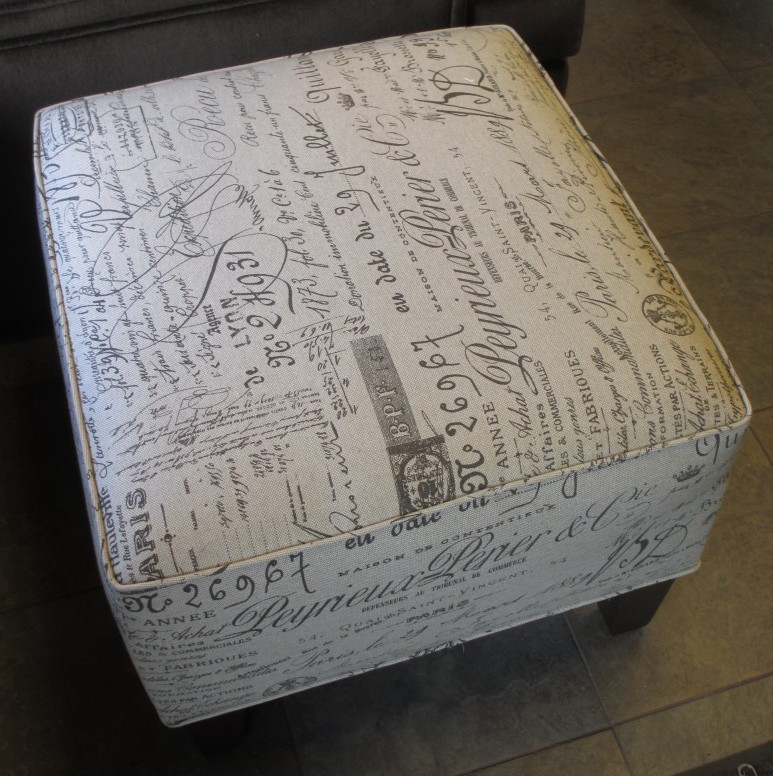 french signature ottoman for sale