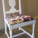 full tie weave side chair