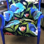floral signature arm chair