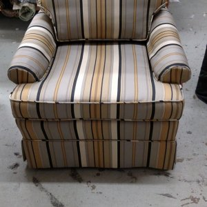 Re-upholstered
